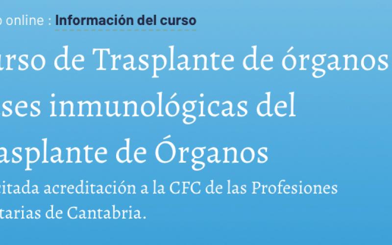 Trasplante de órganos. Bases inmunológicas del Trasplante de Órganos